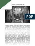 Mausoleo de Santa Constanza Roma S IV AC 350