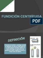 Fundicion Centrifuga-fundicion Poliestireno Expandido