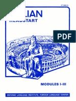 Learn Italian - FSI Headstart Course (Part 1)