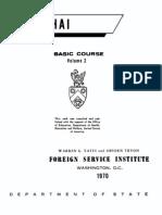 Learn Thai - FSI Basic Course (Part 2)