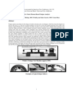 Finite Element Based Fatigue Analysis
