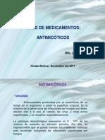 Tipos de Medicamentos Antimicoticos