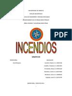 Higiene y Seguridad Industrial. Incendios