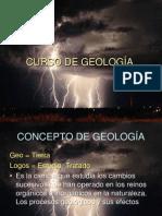 CURSO DE GEOLOGÍA 2011