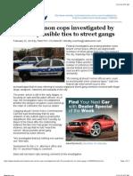 Feds Investigate Mont Vernon Cops