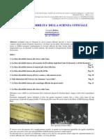 Sullattendibilita Della Scienza Ufficiale