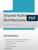 Shared Nothing Architectures