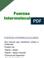 7. Fuerzas Intermoleculares