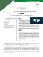 Anestesia y Neuromonitorizacion Transoperatoria Funcional