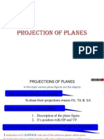 Projection of Planes