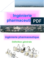 Ingenierie pharmaceutique