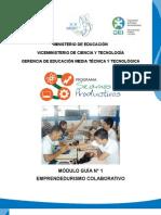 Mdulo Gua 1 - Emprendedurismo Colaborativo