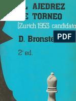 El Ajedrez de Torneo - D. Bronstein