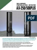 Optex AX 500