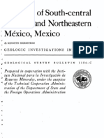 Segestrom (1962) -- Geology of S Central Hidalgo n' NE Mexico