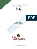 Maths  Class -XII