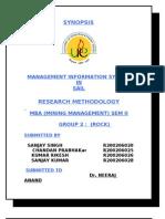 Presentation on Synopsis