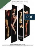 Joss Arnott Dance tour flyer