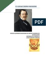 Trabajo Semestral_vida de Gioacchino Rossini