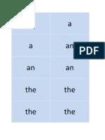 Grammar Box Cards