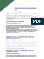VENTAJAS DEL METODO DE EVALUACION DEL DESEMPEÑO MEDIANTE GRAFICAS