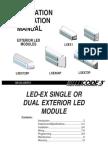 Inst Led-ex Single-dual Exterior 12-24vdc Led Modules t05793-Xa0750 Rev 8