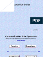 Communication Styles