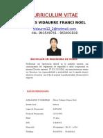 Curriculum Franci