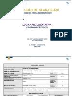 9.- LGICA ARGUMENTATIVA (9-05-11) (1)