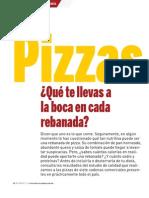 PIZZAS (Revista Del Consumidor)