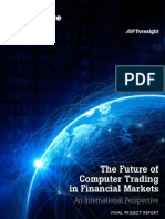12 1086 Future of Computer Trading in Financial Markets Report