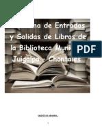 Sitema de Entrada y Salida de Libros