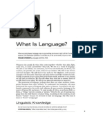 1 What is Language From Fromkin 2010
