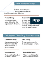 Group and Group Dynamics