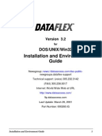 DataFlex 3.2 Installation and Environment Guide