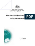 Argpmap15Australian Regulatory Guidelines For