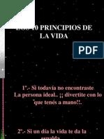 10 Principios de La Vida
