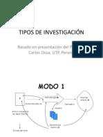 2 Tipos de Investigacion