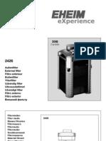 EHEIM Experience 2426 Manual
