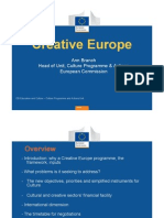 Creative Europe-General Presentation