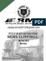 08 Jul 13 Newsclippings