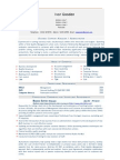 Admin, Business Support Manager (Universal CV Template)