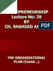 Entrepreneurship - MGT602 Power Point Slides Lecture 29