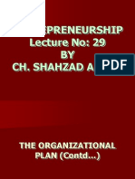 Entrepreneurship - MGT602 Power Point Slides Lecture 29