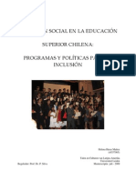 Exclusión Social en Educación Superior chilena