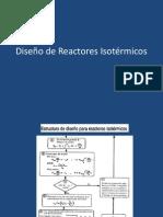 Diseño de Reactores Isotérmicos