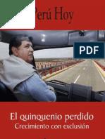 Peru Quinquenio Perdido