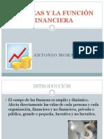 FINANZAS Y LA FUNCIÓN FINANCIERA
