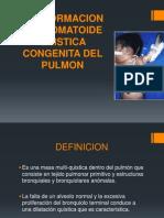 Malformacion Adenomatoide Quistica Congenita Del Pulmon