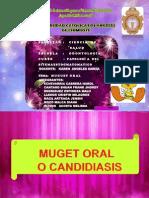 Candidiasis Oral o Bucal
